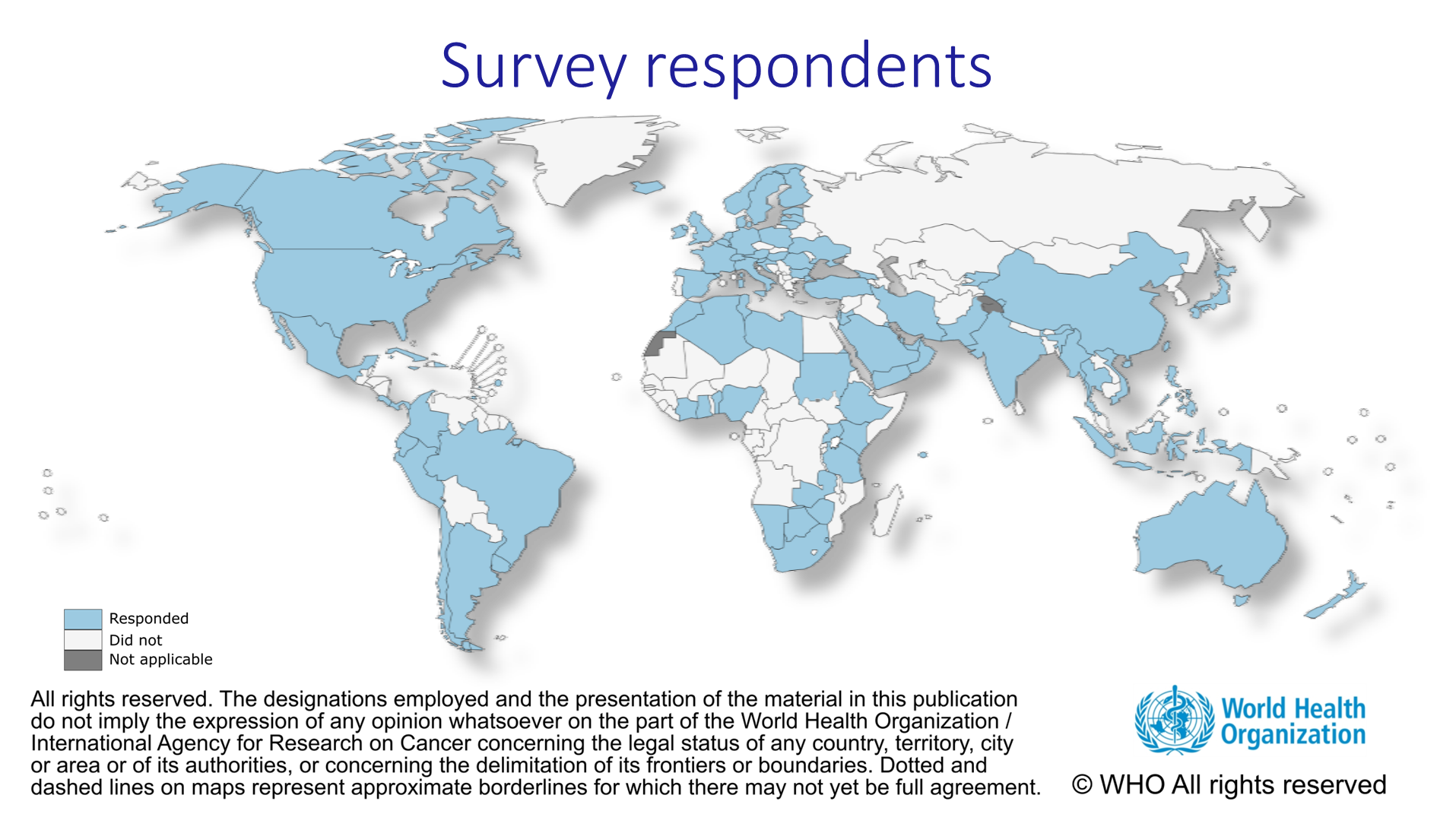Covid19 survey1 Respondents